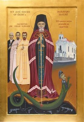 Piispa Gorazd Prahalainen.